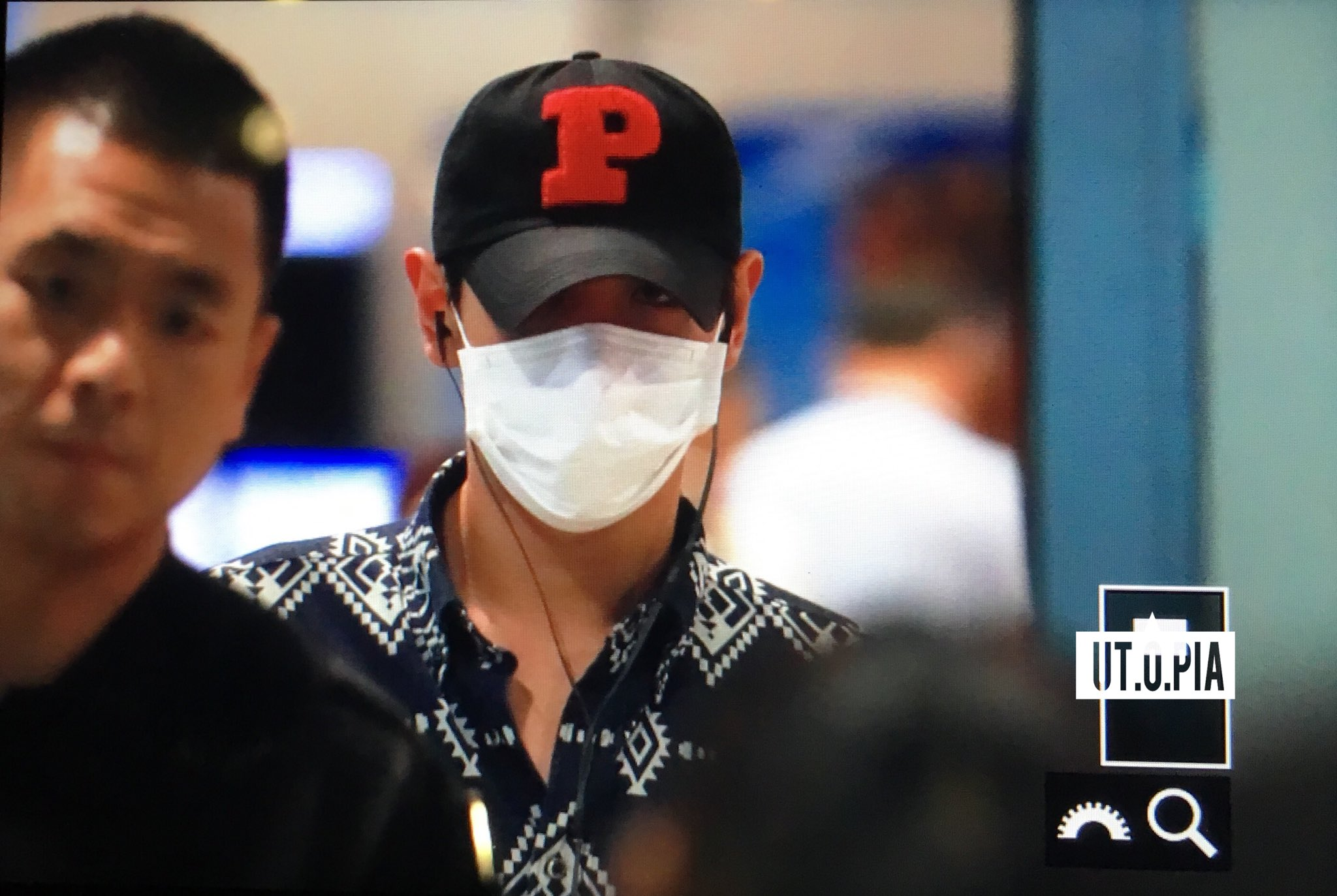 TOP Arrival Seoul ICN From Shanghai 2016-06-16 (3)