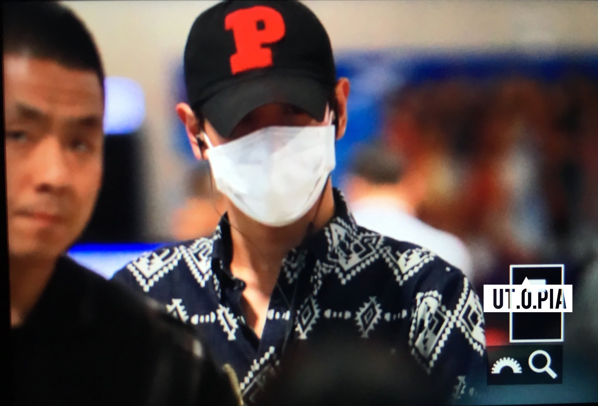 TOP Arrival Seoul ICN From Shanghai 2016-06-16 (4)