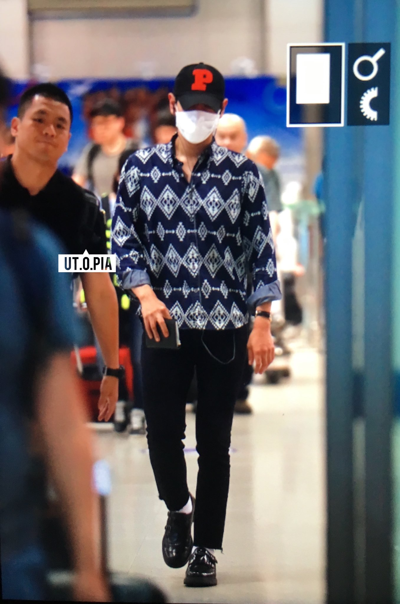 TOP Arrival Seoul ICN From Shanghai 2016-06-16 (5)