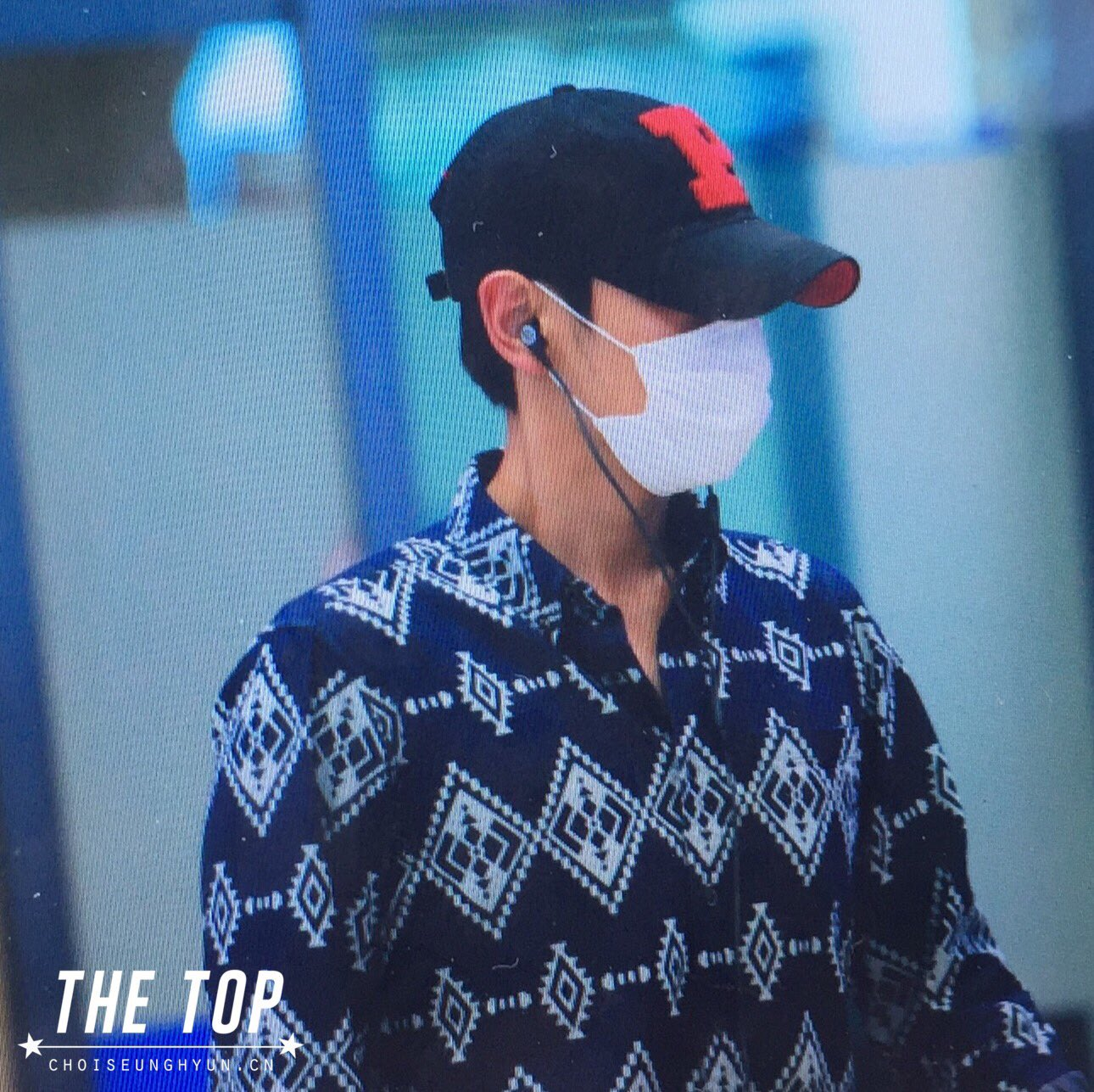 TOP Arrival Seoul ICN From Shanghai 2016-06-16 (7)