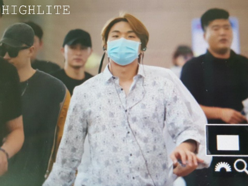 BIGBANG - Incheon Airport - 24jun2016 - High Lite - 02
