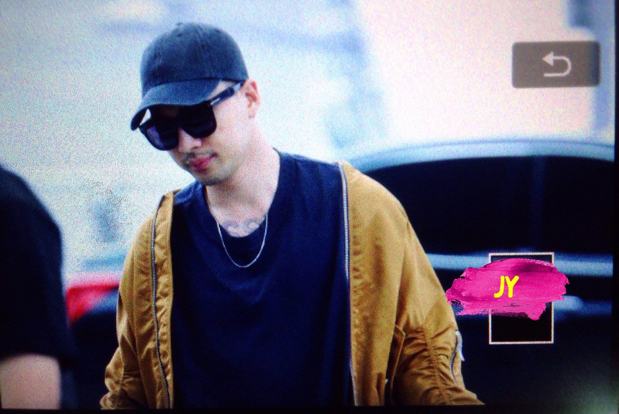 BIGBANG - Incheon Airport - 24jun2016 - Joey_GD - 03