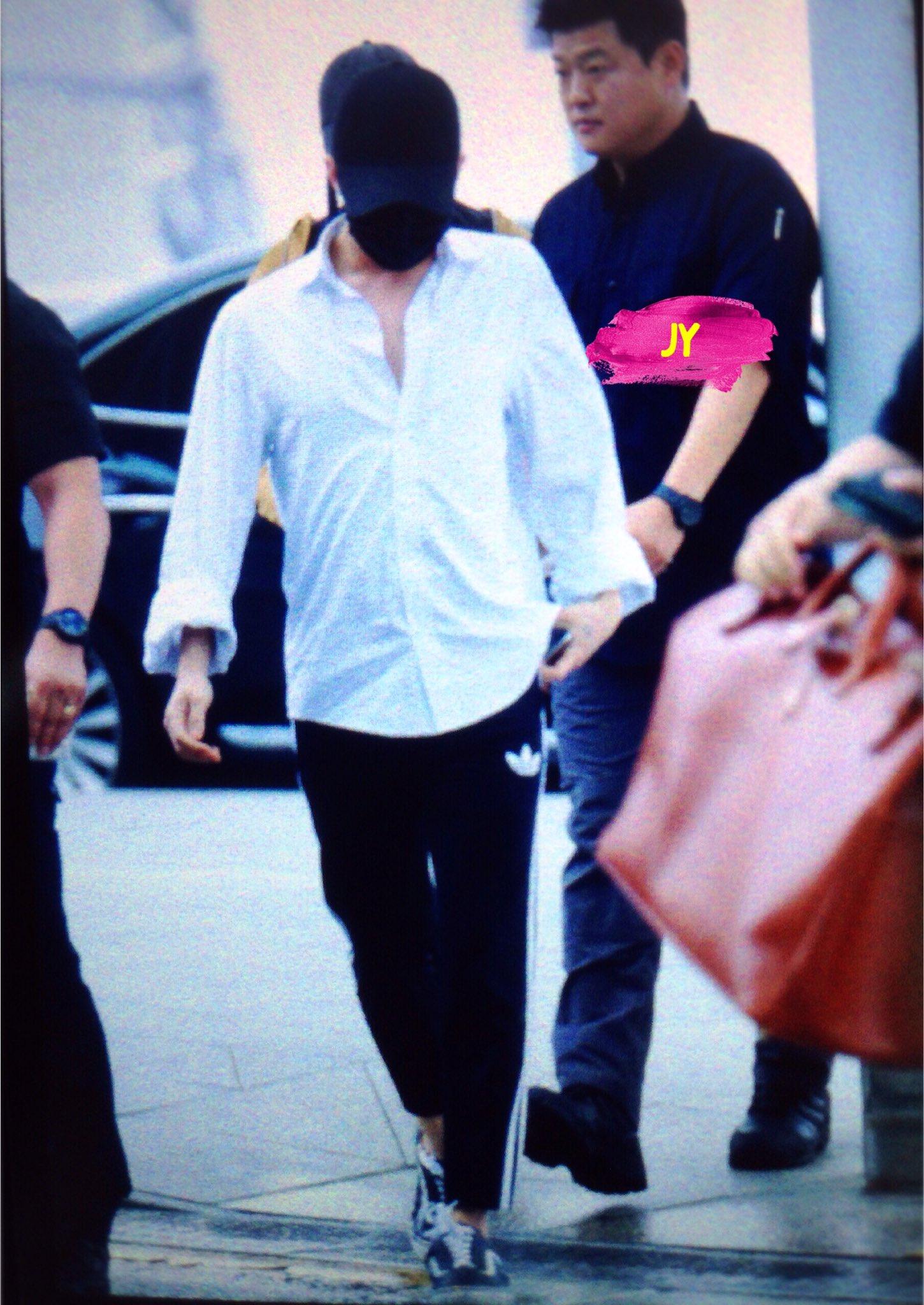 BIGBANG - Incheon Airport - 24jun2016 - Joey_GD - 01