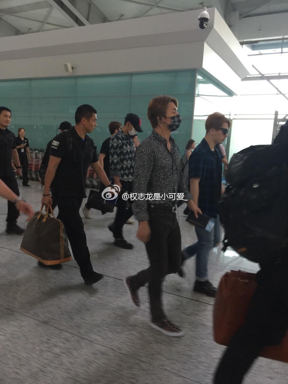BIGBANG Departure Dalian 2016-06-26 (1)