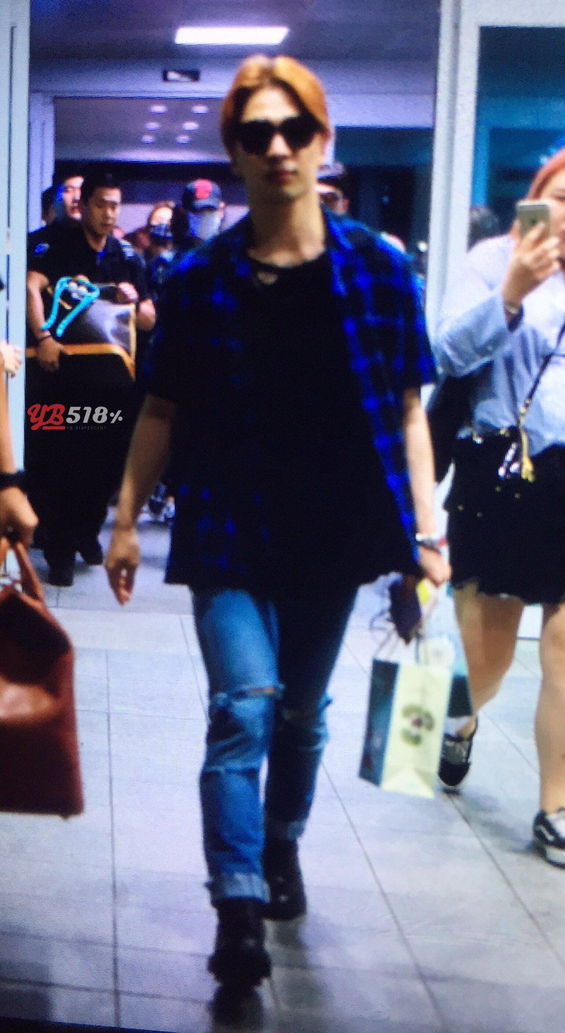 BIGBANG Arrival Seoul From Dalian 2016-06-26 (1)
