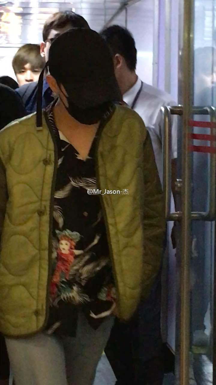 BIGBANG Arrival Chongqing 2016-06-30 (3)