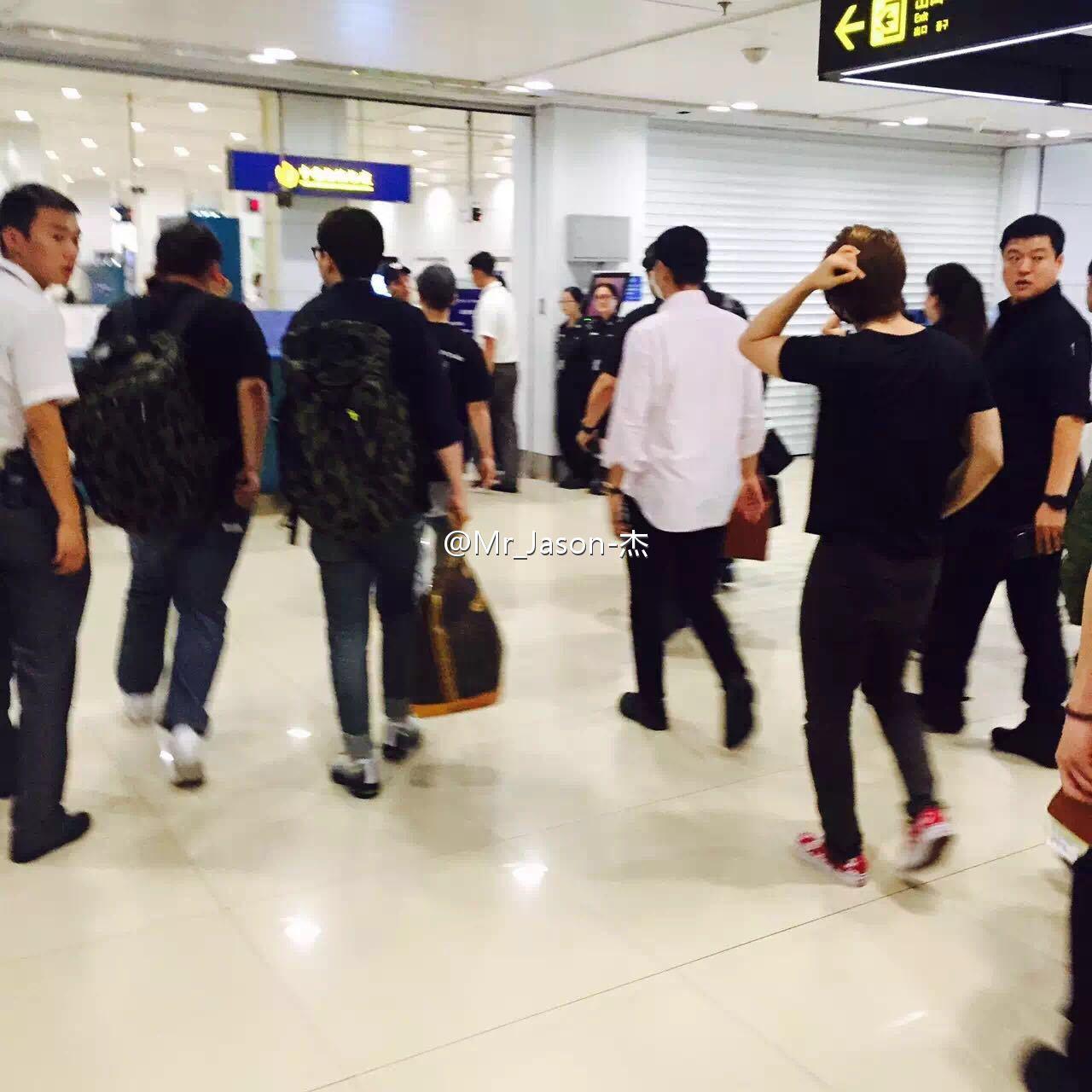 BIGBANG Arrival Chongqing 2016-06-30 (5)
