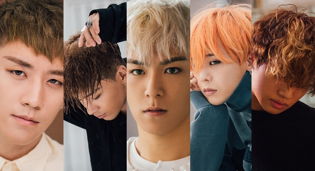 "Image: BIGBANG for ""Let's Not Fall In Love"" / YG Entertainment"