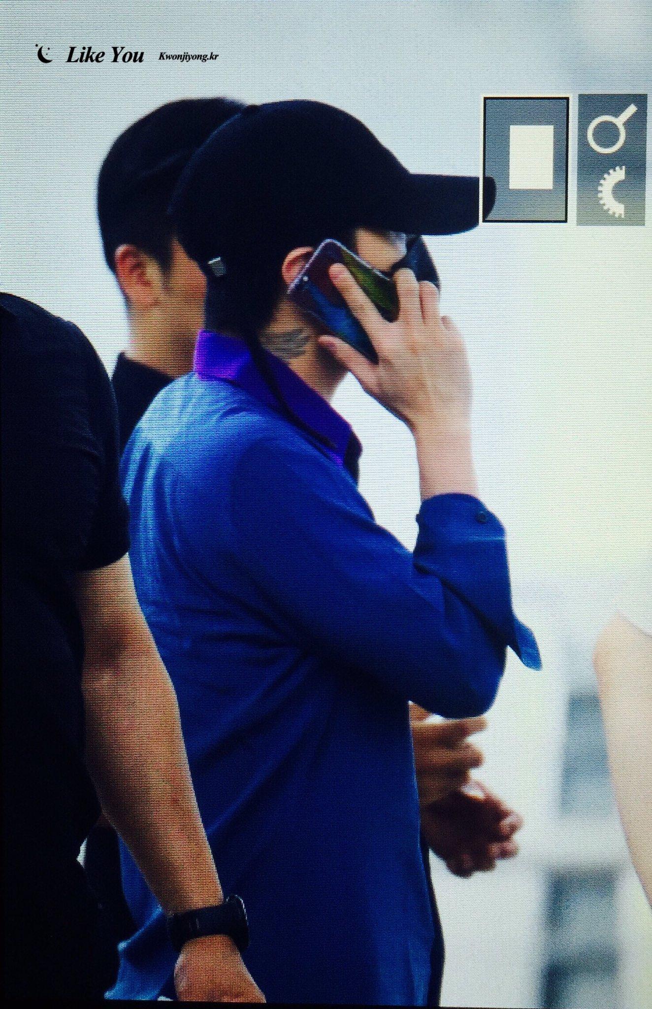Big Bang - Incheon Airport - 07jul2016 - likeyou_GD - 03