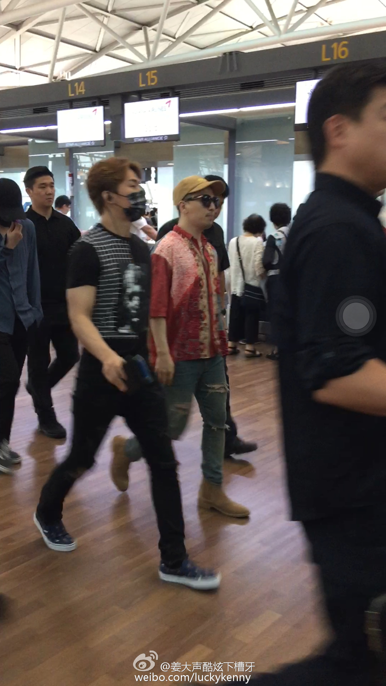 BIGBANG - Incheon Airport - 07jul2016 - luckykenny - 01
