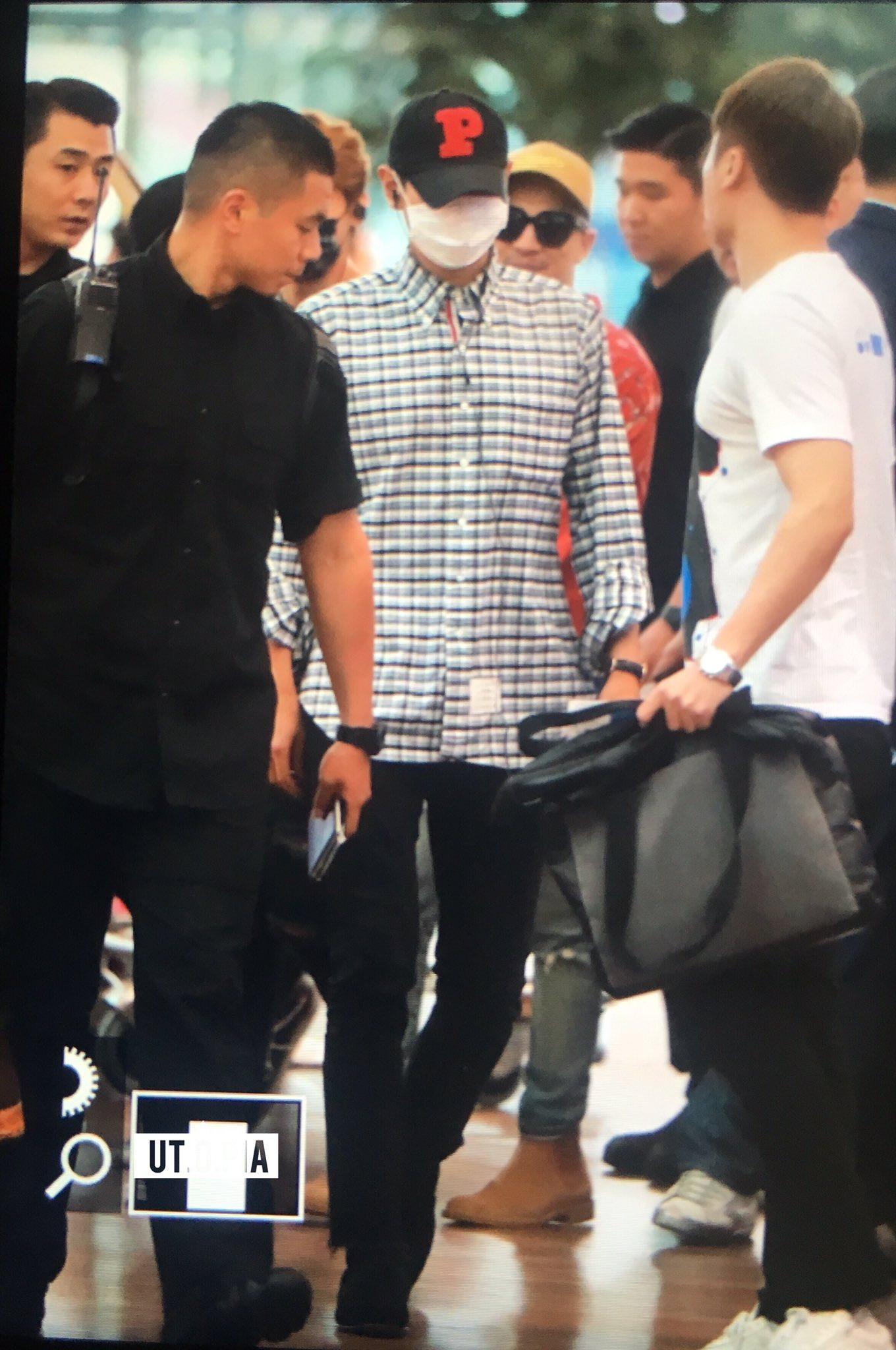 Big Bang - Incheon Airport - 07jul2016 - Utopia - 03