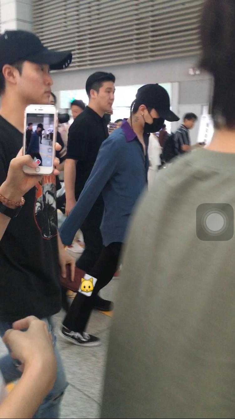 BIGBANG Departure Seoul to Guangzhou 2016-07-07