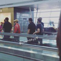BIGBANG departure Seoul to Guangzhou 2016-07-07 (2)