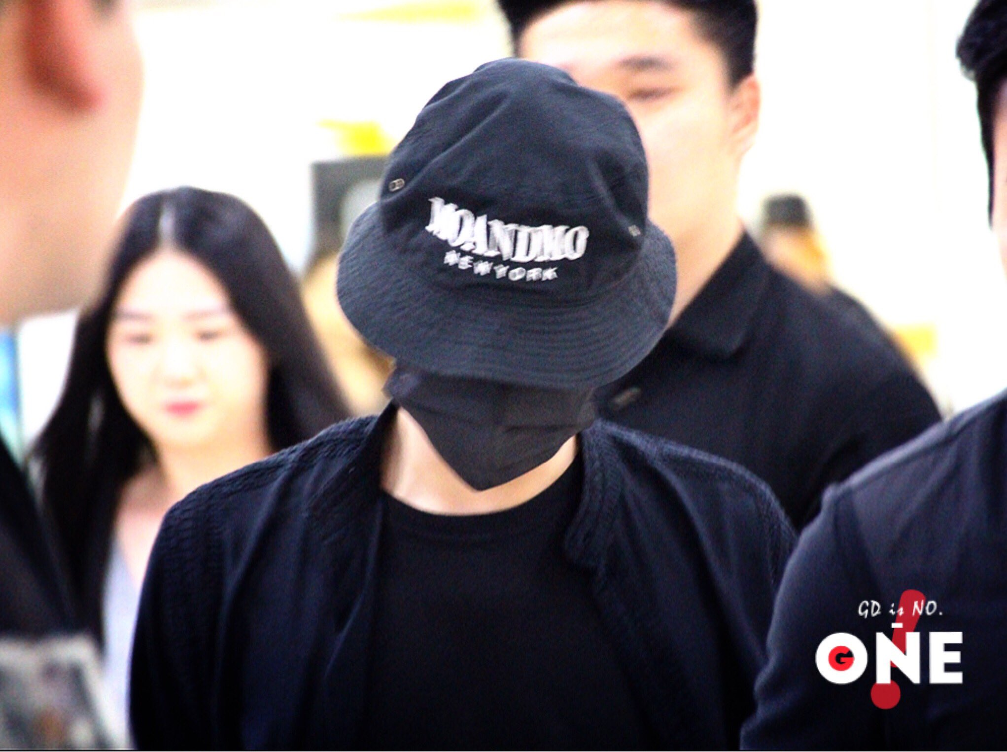 BIGBANG w-out Ri arrival Gimpo from Beijing 2016-07-18 (7)
