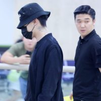 BIGBANG w-out Ri arrival Gimpo from Beijing 2016-07-18 (21)