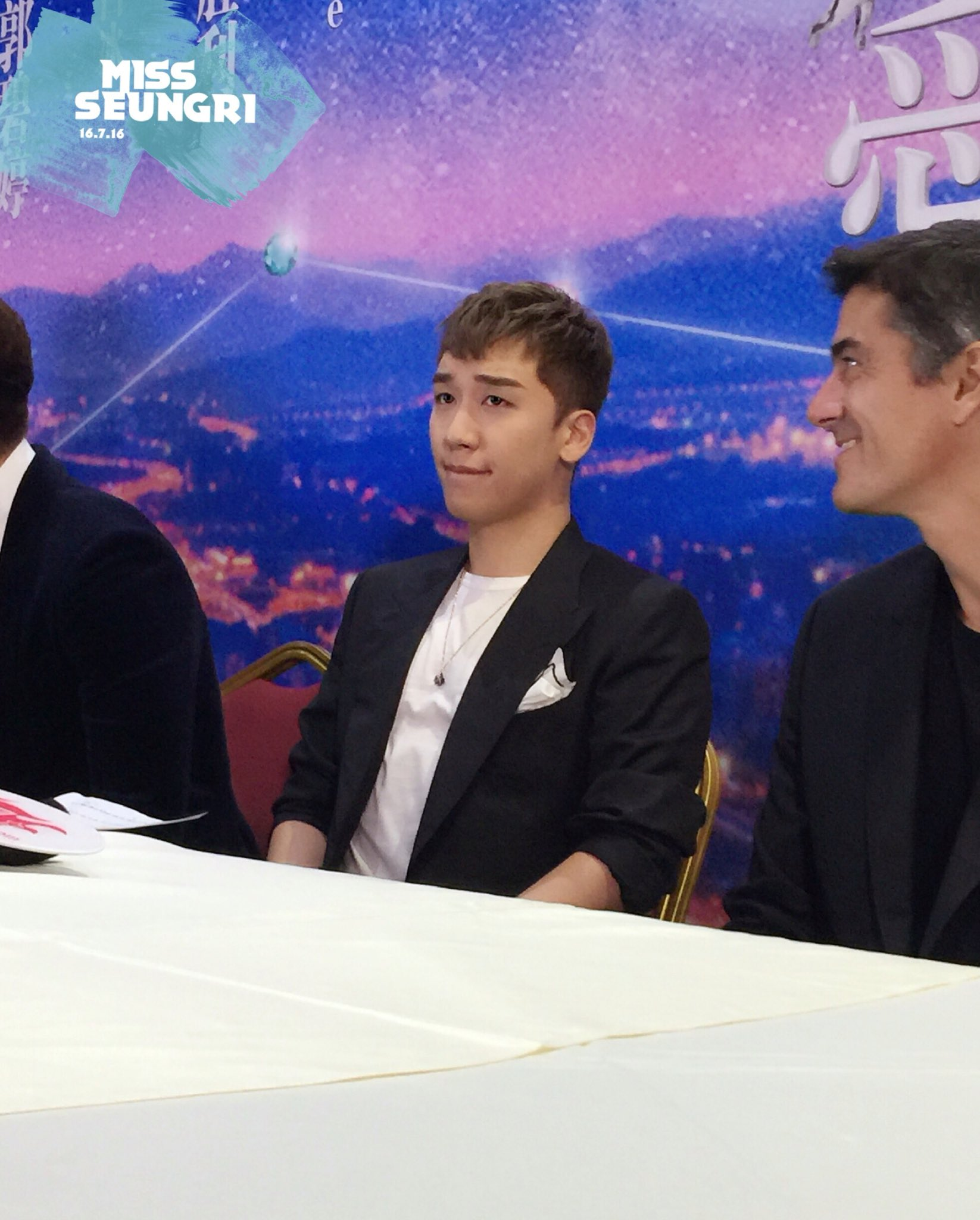 Seungri Press Conference for Chinese Movie 2016-07-16 (18)