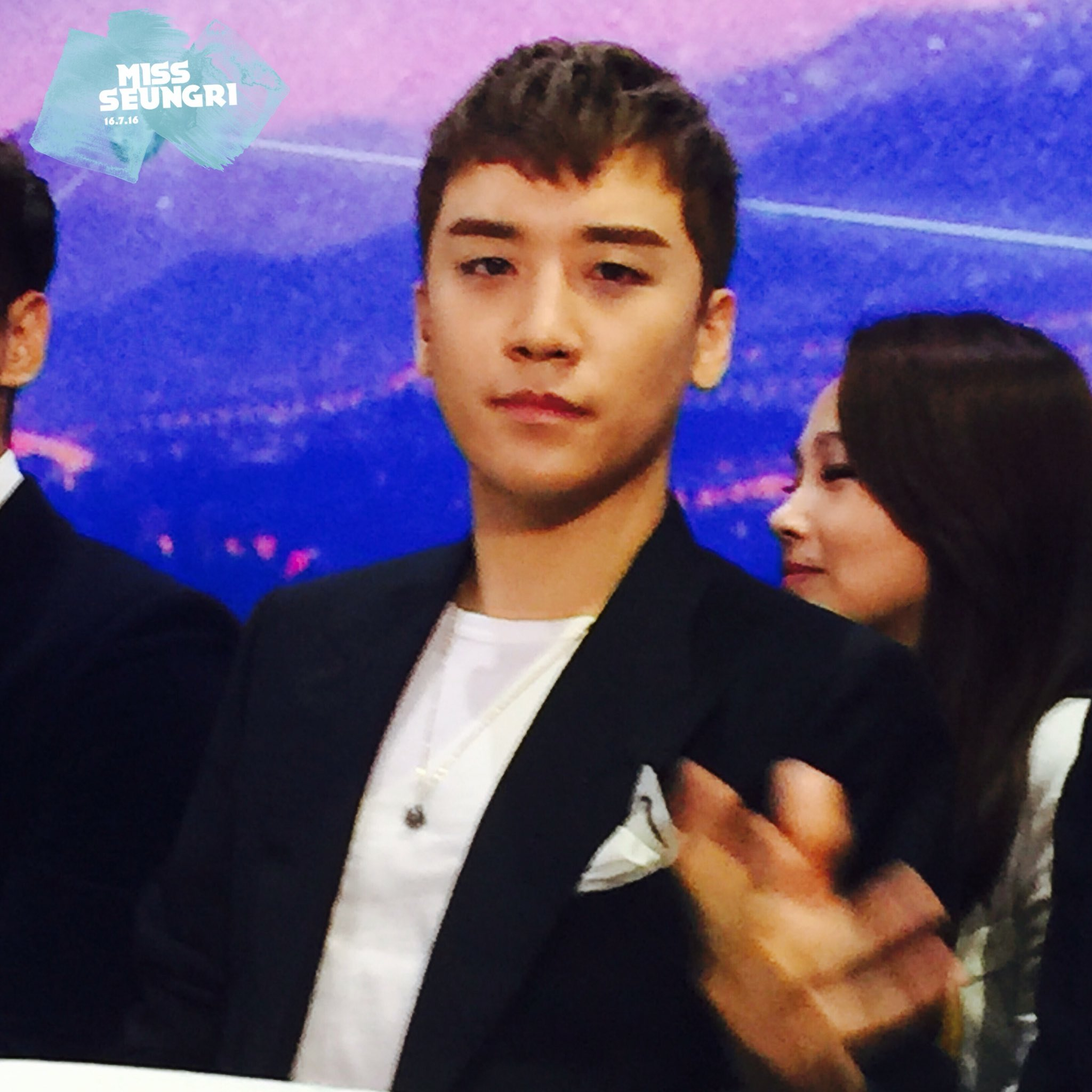 Seungri Press Conference for Chinese Movie 2016-07-16 (20)