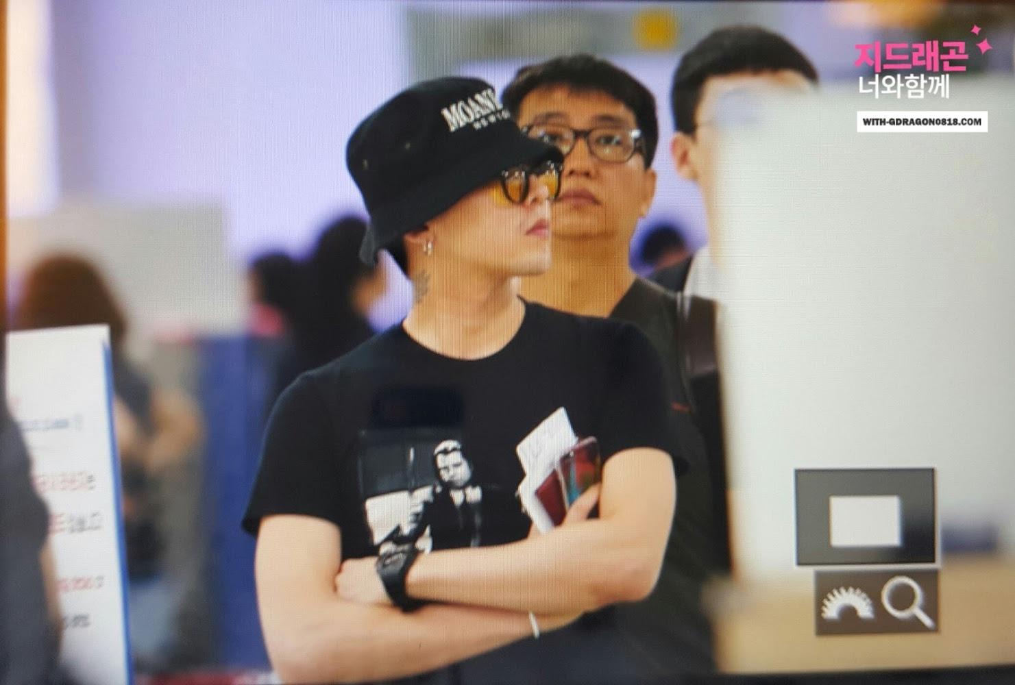 BIGBANG - Gimpo Airport - 28jul2016 - With G-Dragon - 04