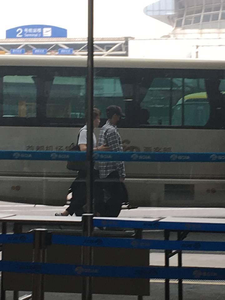 BIGBANG departure Beijing to Seoul 2016-07-18 (10)
