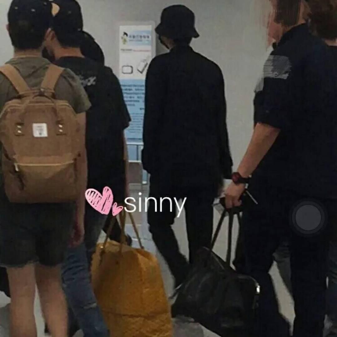 BIGBANG departure Beijing to Seoul 2016-07-18 (4)