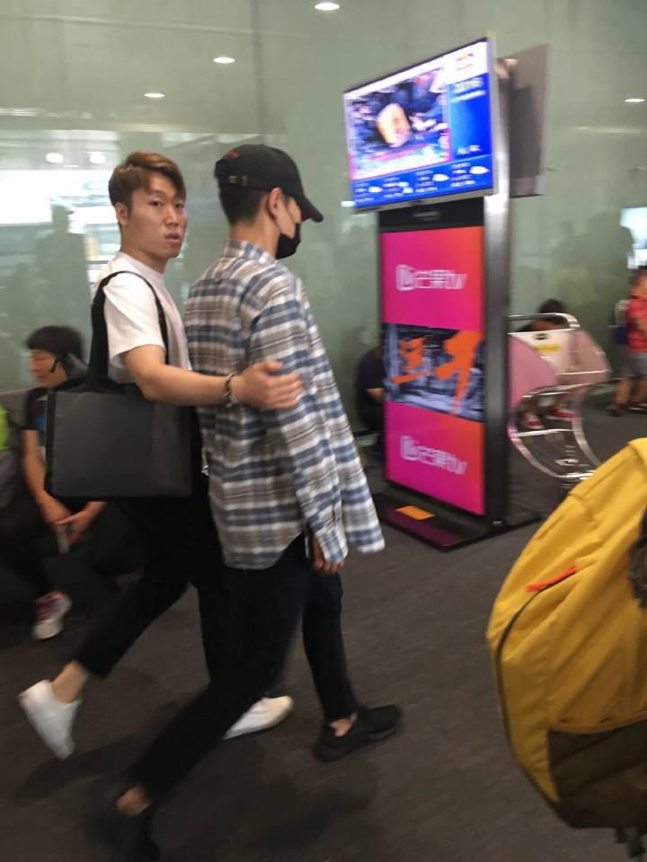 BIGBANG departure Beijing to Seoul 2016-07-18 (7)