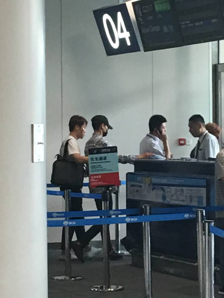 BIGBANG departure Beijing to Seoul 2016-07-18 (8)