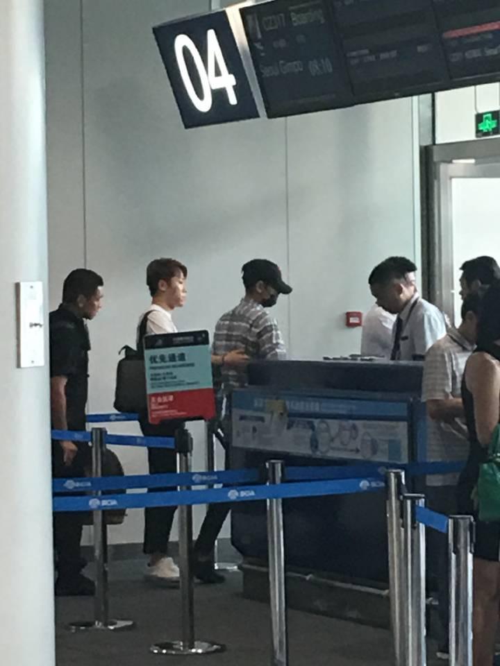 BIGBANG departure Beijing to Seoul 2016-07-18 (9)
