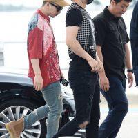BIGBANG departure Seoul to Guangzhou 2016-07-07 (7)