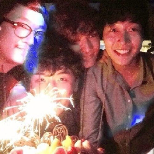 Birthday Party with Seungri attending. 20140512: 작년 우리끼리 party~...